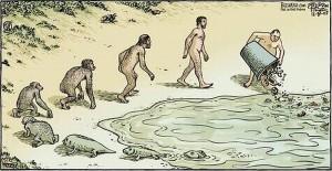 Homo-Sapien-Evolution-Poubelle